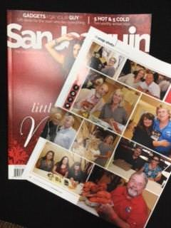 Image of San Joaquin Magazine featuring an article about the Community Center for the Blind and Visually Impaired.